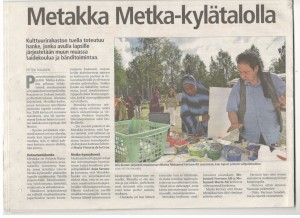 Metakka hanke LieksanLehti